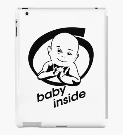 baby inside new family member will born iPad Case/Skin