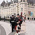 Bagpipes on Confederation Square - Ottawa, ON Canada by Shulie1