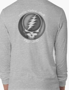 """Grateful Dead """"Fare Thee Well"""" 50th Anniversary Steal Your Face GD50 Long Sleeve T-Shirt"""