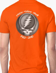 "Grateful Dead ""Fare Thee Well"" 50th Anniversary Steal Your Face GD50 Unisex T-Shirt"