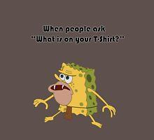 Spongegar Meme Design Unisex T-Shirt