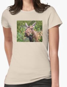 Happy Moose Womens Fitted T-Shirt
