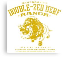 Davengatts Double-Zed Nerf Ranch Metal Print