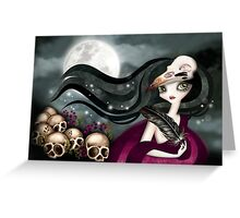 The Witching Hour Greeting Card