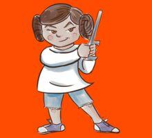 Backyard Star Wars - Princess Leia Kids Tee