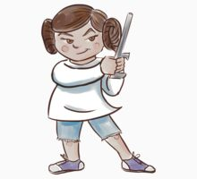 Backyard Star Wars - Princess Leia Kids Tee