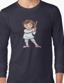 Backyard Star Wars - Princess Leia Long Sleeve T-Shirt