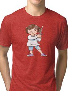 Backyard Star Wars - Princess Leia Tri-blend T-Shirt