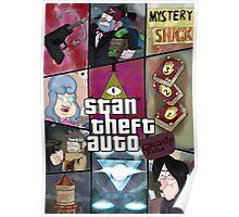 Stan Theft Auto Poster