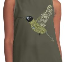 Abstract Hummingbird Contrast Tank