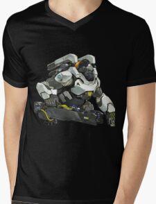Winston! Mens V-Neck T-Shirt