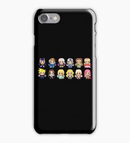 Final Fantasy Pixel Heroes iPhone Case/Skin