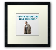 Castiel Quote  Framed Print