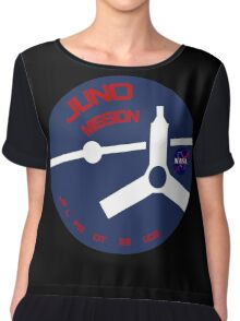 JUNO Mission Logo Chiffon Top