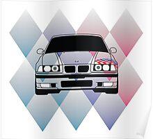BMW M3 E36 Poster