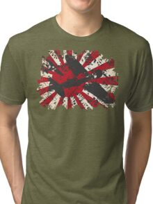 Japan Navy WW2 Pacific War Tri-blend T-Shirt