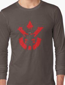 <DRAGON BALL Z> Vegeta Saiyan Royal LOGO Long Sleeve T-Shirt