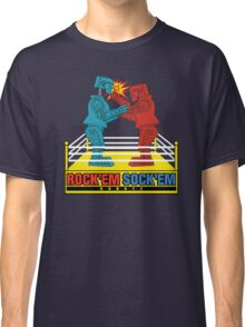 Rock'em Sock'em - 2D Original Punch Variant Classic T-Shirt