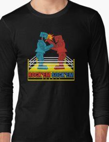 Rock'em Sock'em - 2D Original Punch Variant Long Sleeve T-Shirt