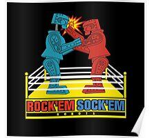 Rock'em Sock'em - 2D Original Punch Variant Poster