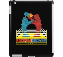 Rock'em Sock'em - 2D Original Punch Variant iPad Case/Skin