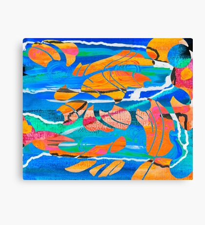 Spilled Thought Canvas Print