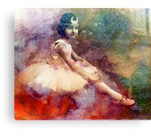 HER BALLET DREAMS Canvas Print