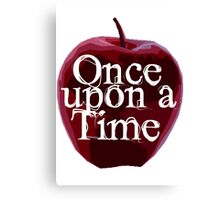Once Upon A Time - Poison Apple Canvas Print