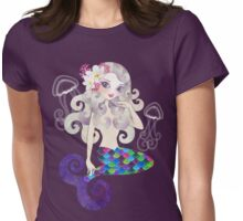 Amethyste Mermaid Womens Fitted T-Shirt