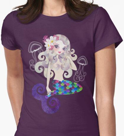 Amethyste Mermaid Womens Fitted T-Shirt