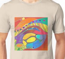 Bold Organic Abstract Art  Unisex T-Shirt