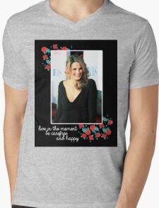 Stana Katic Mens V-Neck T-Shirt