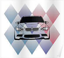 BMW M3 E92 Poster