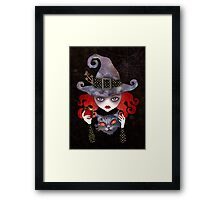 Maelba, the Red Witch Framed Print
