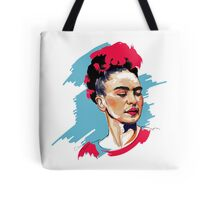 Colored Frida Tote Bag