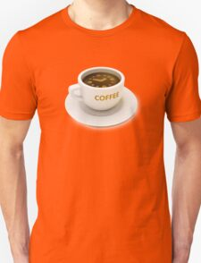 coffee cup with the clock time for coffee break Unisex T-Shirt