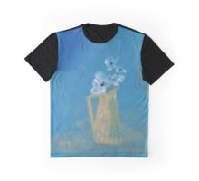 White poppies Graphic T-Shirt