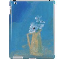 White poppies iPad Case/Skin