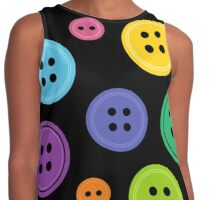 Rainbow Buttons Contrast Tank
