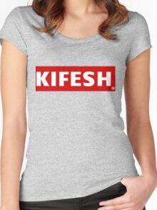 Kifesh Women's Fitted Scoop T-Shirt
