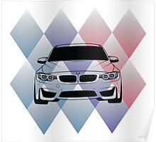 BMW M3 F80 Poster
