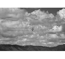 Thunderbirds in Colorado Springs #8 (Black and white) Photographic Print