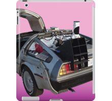 Delorean iPad Case/Skin