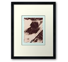 Abstract Rock Array Framed Print
