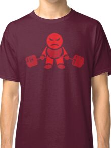 Cute Weightlifting Robot - Deadlift (Red) Classic T-Shirt