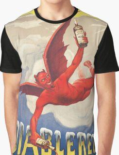 The Devil - Diablerets Apertif Sain Graphic T-Shirt
