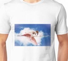 Roseate Rider In The Sky Unisex T-Shirt