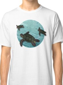 All Three Together Seaturtle Art Classic T-Shirt