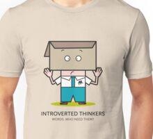 Mr. White Collar - WORDS Unisex T-Shirt