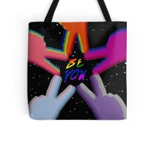 """""""Be You"""" Pride Design Tote Bag"""
